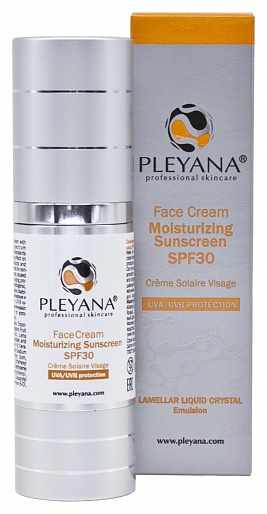 PLEYANA MOISTURIZING SUNSCREEN SPF30